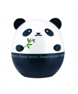 Maska na noc - Panda's Dream - White Sleeping Pack