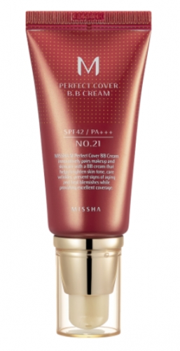 MISSHA M Perfect Cover BB Cream (no. 21 Light Beige) SPF 42 / PA+++