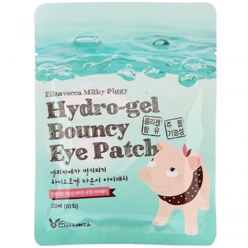Koreabu - Elizavecca - Hydrożelowe plastry pod oczy - Bouncy Eye Patch
